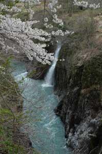 手取川渓谷1